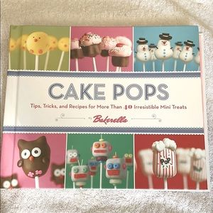 NEW Cake Pops Spiral Cookbook